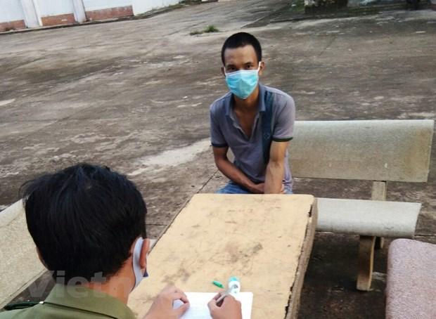 Binh Phuoc: Bat mot doi tuong co gang vuot bien tron cach ly hinh anh 1