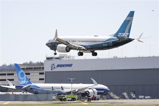 Boeing tiep tuc gap khung hoang voi cac don dat hang may bay 737 MAX hinh anh 1