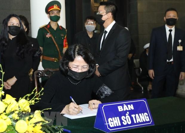 Xuc dong nhung dong tien biet nguyen Tong Bi thu Le Kha Phieu hinh anh 2