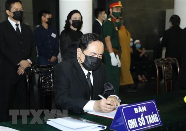 Xuc dong nhung dong tien biet nguyen Tong Bi thu Le Kha Phieu hinh anh 3