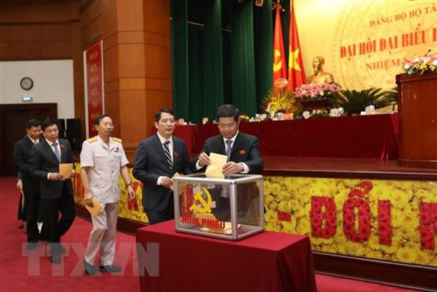 Dai hoi Dang bo Bo Tai chinh: De ra 5 giai phap dot pha hinh anh 1