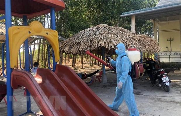 Quang Tri tang cuong phong, chong benh bach hau hinh anh 1