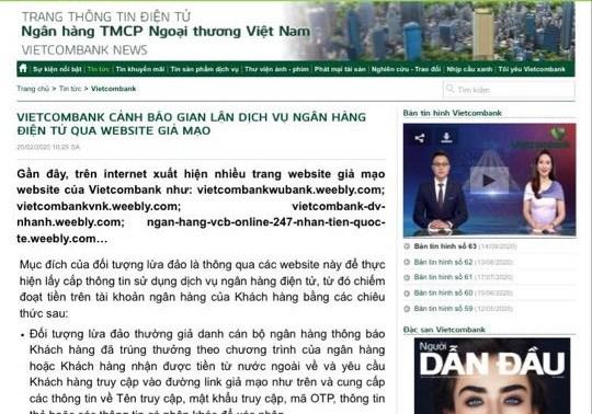 Canh bao thu doan lua dao thong qua website gia mao hinh anh 1