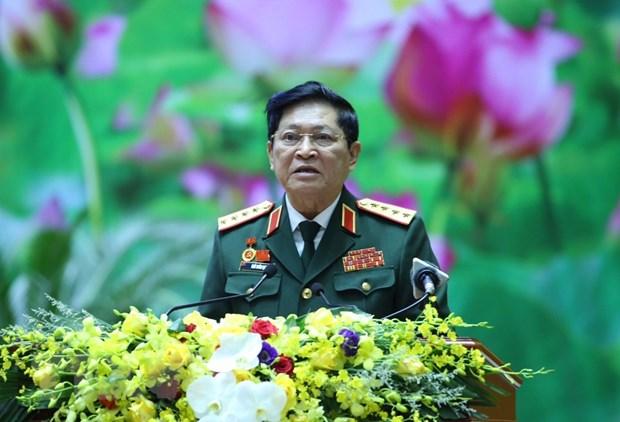 Khai mac Dai hoi dai bieu Dang bo Quan doi lan XI, nhiem ky 2020-2025 hinh anh 1