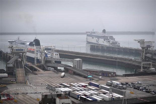 Cầu cảng Dover, miền Nam nước Anh ngày 12-7-2020. Ảnh: AFP/TTXVN