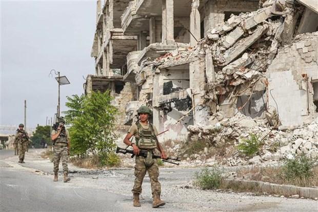 Syria: Quan noi day tan cong dap tra luc luong ung ho chinh phu hinh anh 1