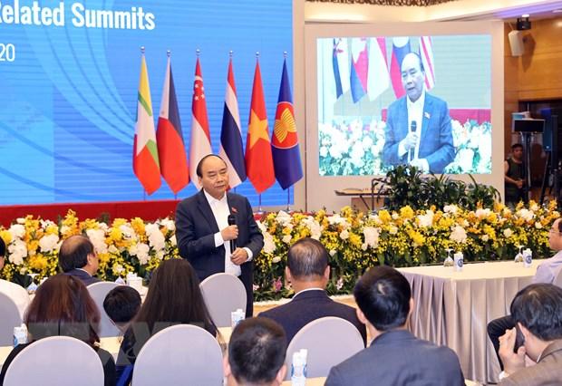ASEAN 2020: ASEAN quyet tam duy tri da hop tac, lien ket khu vuc hinh anh 1