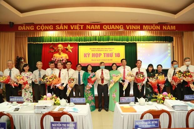 Bau 3 Pho Chu tich Uy ban nhan dan tinh Dong Nai nhiem ky 2016-2021 hinh anh 1