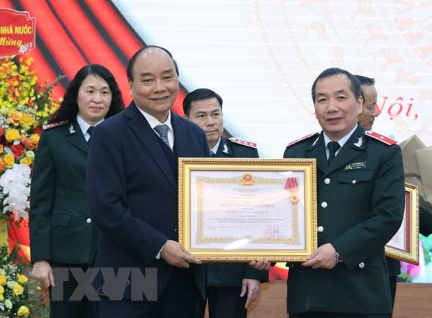 Thu tuong Nguyen Xuan Phuc: Uy tin cua nganh Thanh tra duoc nang len hinh anh 1