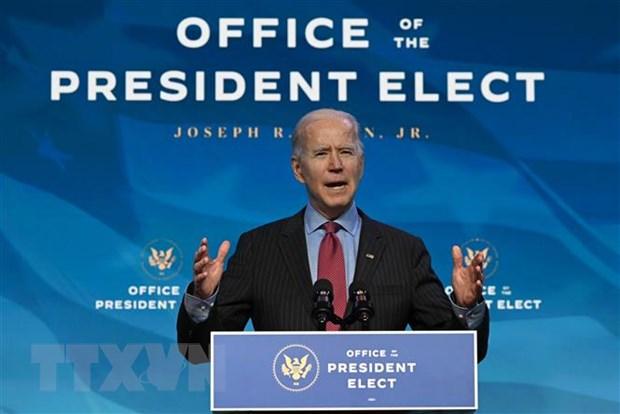 Dien tap cho le nham chuc cua Tong thong dac cu Joe Biden bi lui lai hinh anh 1