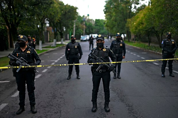 Mexico: Mot vu bao luc tai thu do khien 5 nguoi thiet mang hinh anh 1