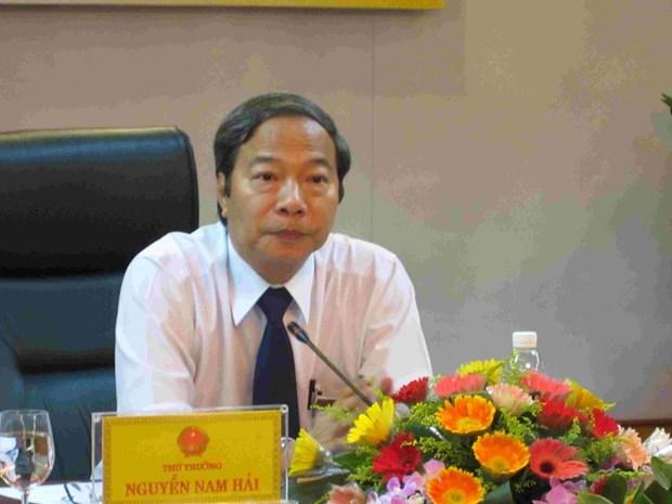 Trieu tap nguyen Thu truong Bo Cong Thuong Nguyen Nam Hai hinh anh 1