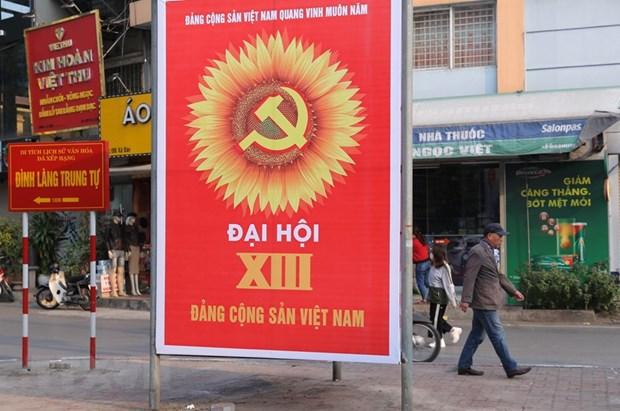 Co ban hoan thanh co so vat chat cho Trung tam Bao chi Dai hoi hinh anh 2