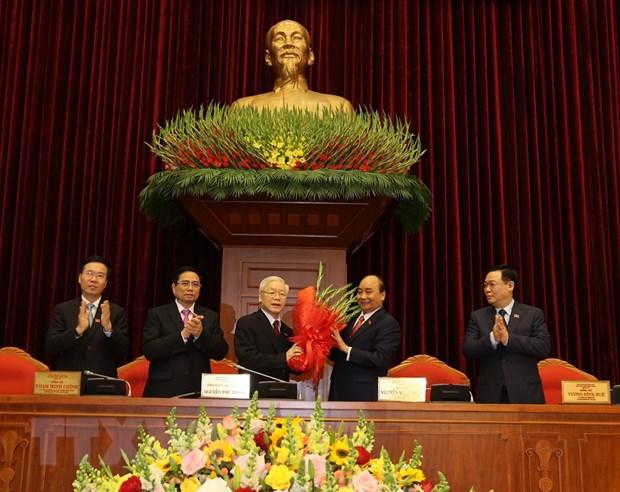 Dong chi Nguyen Phu Trong duoc tin nhiem bau lam Tong Bi thu hinh anh 1