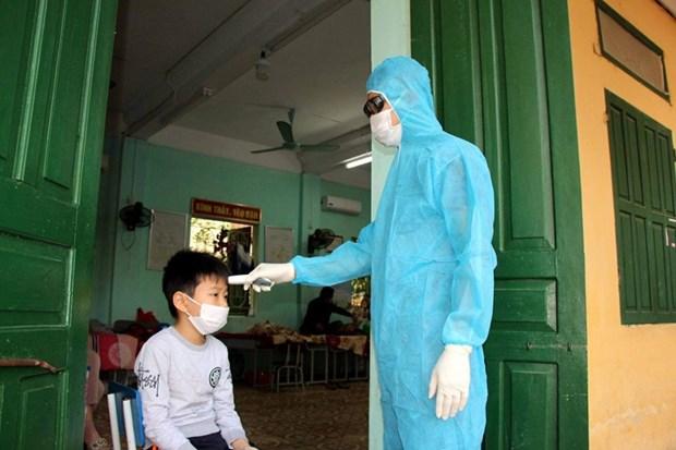 Hai Duong: Thiet lap vung cach ly y te tai huyen Cam Giang hinh anh 1