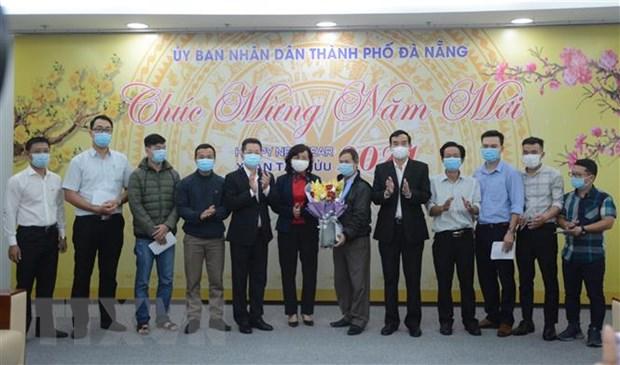 Doan bac sy Da Nang len duong chi vien Gia Lai phong, chong COVID-19 hinh anh 1