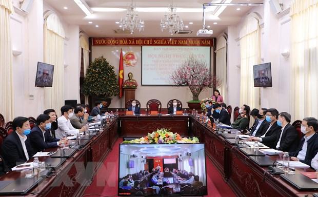 Ninh Binh trien khai cong tac bau cu dai bieu Quoc hoi khoa XV hinh anh 1
