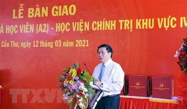 Ong Nguyen Xuan Thang duoc gioi thieu ung cu dai bieu Quoc hoi khoa XV hinh anh 1