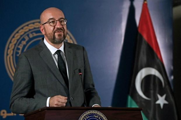 EU san sang ho tro cho chinh phu doan ket dan toc o Libya hinh anh 1