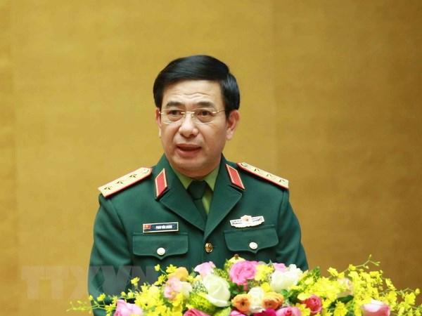 Ban giao nhiem vu Bo truong Bo Quoc phong cho tuong Phan Van Giang hinh anh 1