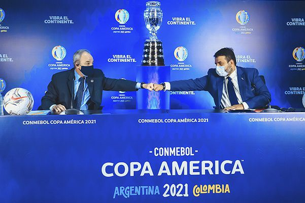 Tong thong Argentina than trong ve Copa America do dich COVID-19 hinh anh 1