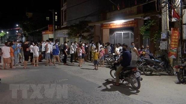 Bac Ninh cach ly xa hoi toan huyen Thuan Thanh tu 14 gio ngay 9/5 hinh anh 1