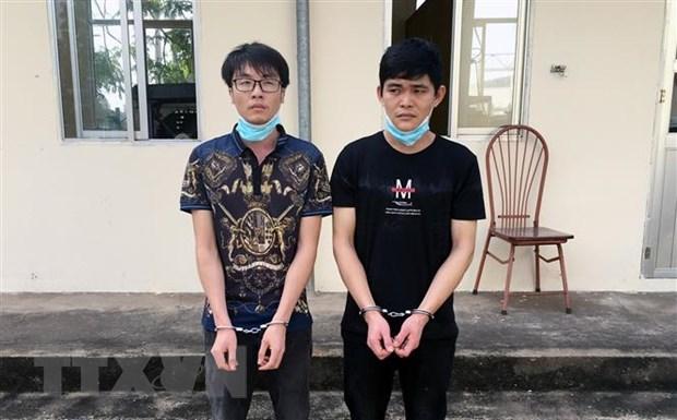 Quang Ninh, An Giang, Dien Bien xu ly cac vu nhap canh trai phep hinh anh 1