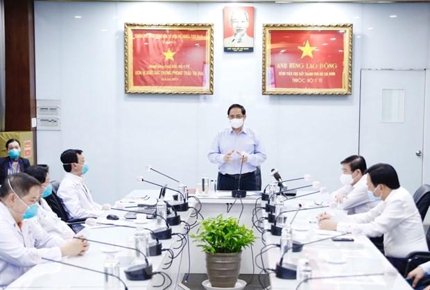 Thanh pho Ho Chi Minh can giai phap can co, dot pha de phat trien hinh anh 2