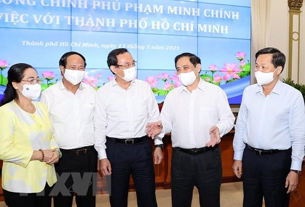 Thanh pho Ho Chi Minh can giai phap can co, dot pha de phat trien hinh anh 1