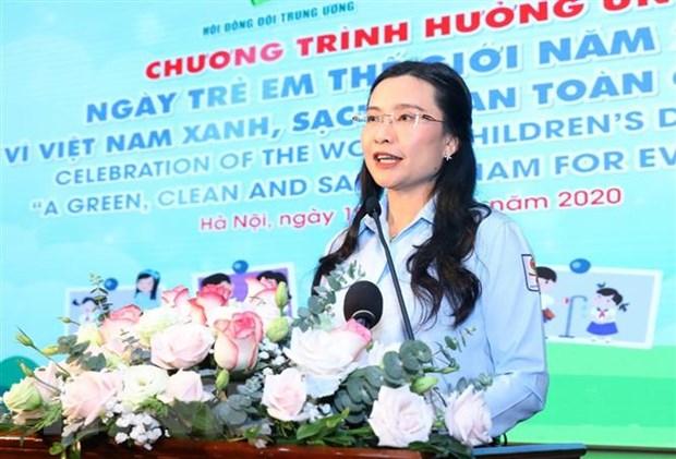 Cham lo xay dung to chuc Doi Thieu nien Tien phong vung manh hinh anh 1
