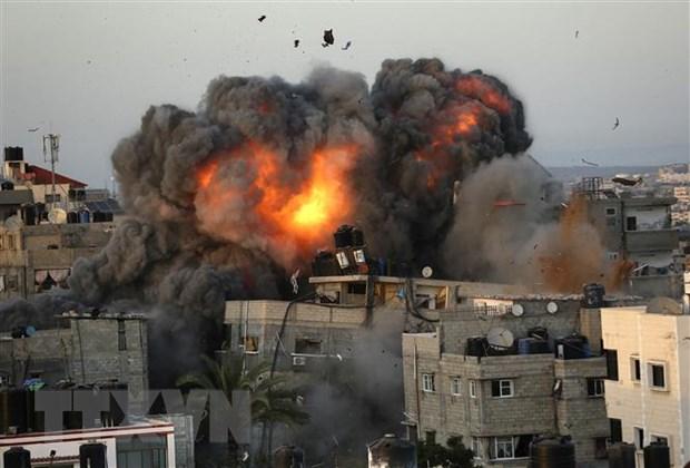OIC hop khan keu goi quoc te no luc cham dut xung dot Israel-Palestine hinh anh 1