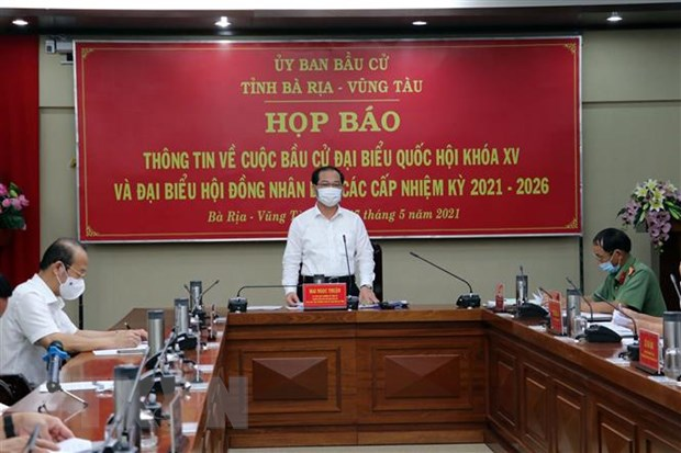 Da Nang, Ba Ria-Vung Tau, Quang Ninh gap rut chuan bi cho ngay bau cu hinh anh 2