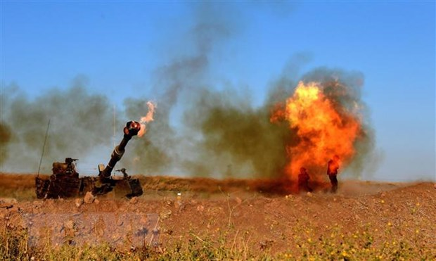 Viet Nam hoan nghenh Israel va Hamas dat thoa thuan ngung ban hinh anh 1