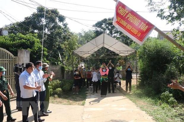 Mot so khu dan cu o Thanh Hoa, Nam Dinh duoc do bo phong toa hinh anh 1