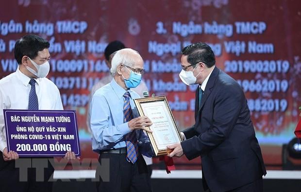 Thu tuong Pham Minh Chinh: Quy vaccine ket noi trai tim, long nhan ai hinh anh 1