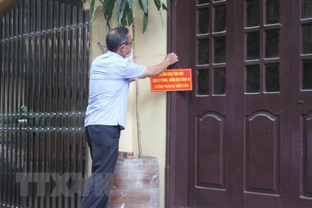 Ninh Binh ghi nhan them mot truong hop tai duong tinh voi SARS-CoV-2 hinh anh 1