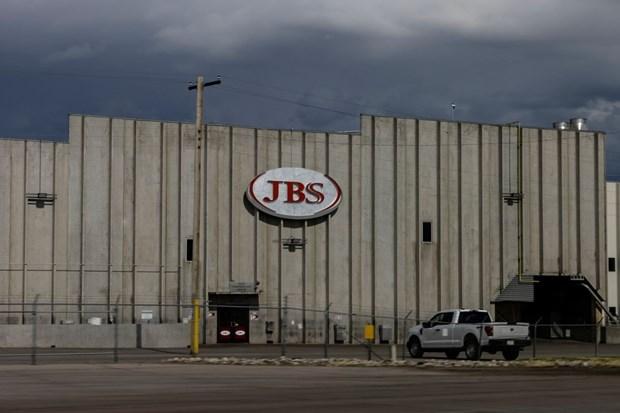 Chi nhanh tap doan thit JBS nop 11 trieu USD tien chuoc cho tin tac hinh anh 1