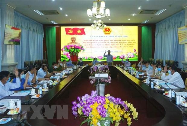 Xac nhan tu cach 50 dai bieu HDND tinh Vinh Long nhiem ky 2021-2026 hinh anh 1