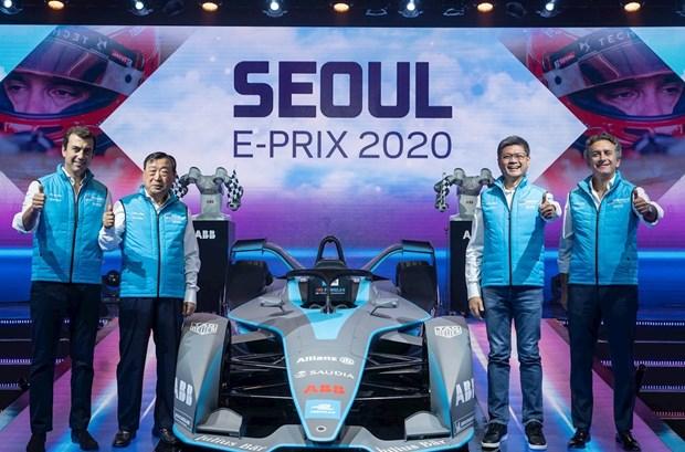 Han Quoc: Thu do Seoul lan dau tien dang cai cuoc dua xe dien E-Prix hinh anh 1