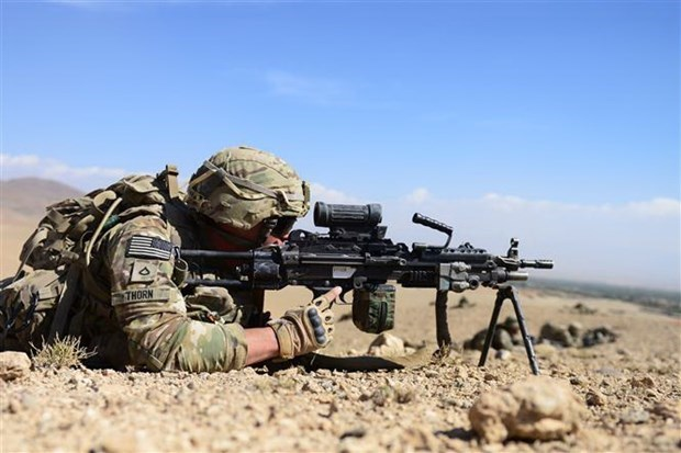 Tong thong My thong bao thoi diem hoan tat rut quan khoi Afghanistan hinh anh 1