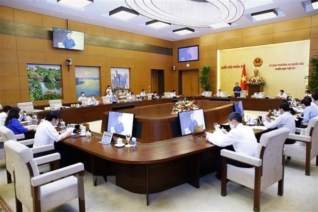 Uy ban Thuong vu Quoc hoi se hop, xem xet ke hoach tai chinh 2021-2025 hinh anh 1