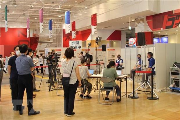 Khai truong trung tam truyen thong phuc vu Olympic Tokyo 2020 hinh anh 1