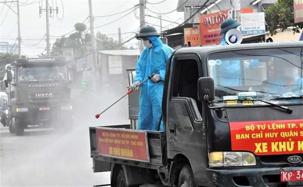 Thanh pho Ho Chi Minh tiep tuc gian cach voi nhieu bien phap manh hinh anh 2