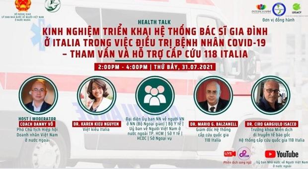 """Khoi dong chuoi toa dam truc tuyen """"Kieu bao chung tay vuot dai dich"""" hinh anh 1"""