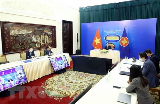 Tin tong hop cac Hoi nghi Bo truong ASEAN trong ngay 2/8 hinh anh 1