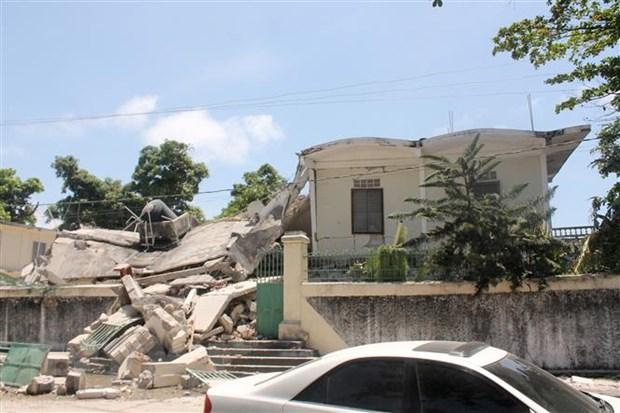 Dong dat o Haiti: Gan 1.300 nguoi thiet mang, khong co nguoi Viet Nam hinh anh 1