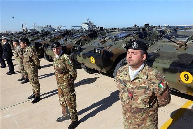 Libya: JMC yeu cau tam ngung cac thoa thuan quan su voi nuoc ngoai hinh anh 1