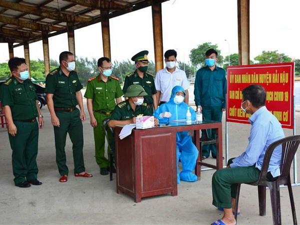 Nam Dinh khan truong dieu tra dich te o dich COVID-19 o Hai Hau hinh anh 1