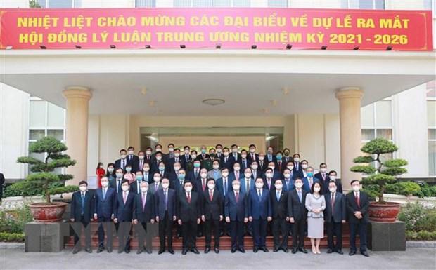 Ra mat Hoi dong Ly luan Trung uong nhiem ky 2021-2026 hinh anh 2