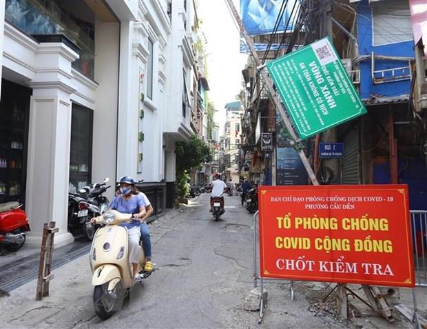 Ha Noi: Noi long hoat dong nhung tuyet doi khong lo la chong dich hinh anh 1